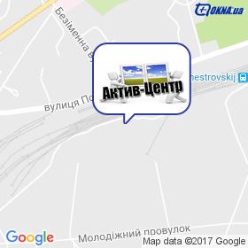 Актив-Центр на мапі