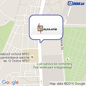 Альфа-АТМ на карте