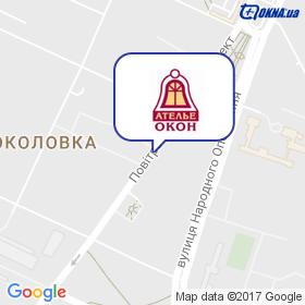Ателье Окон на карте