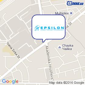 Epsilon ТМ на карте