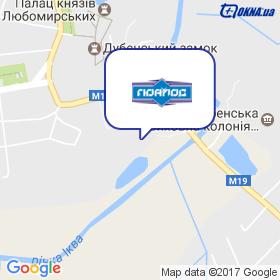 ГЮАЛОС на мапі