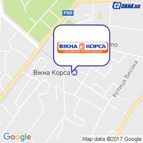 ВІКНА Конотоп на мапі