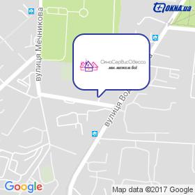 ОкнаСервісОдеса на мапі