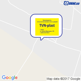 TVN-plast на мапі