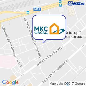 МКС Фасад на карте