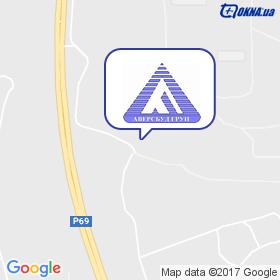 Аверсбуд Груп на мапі