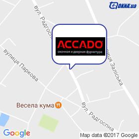ACCADO на карте