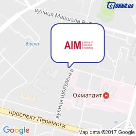 Агентство Індустріального Маркетингу на мапі