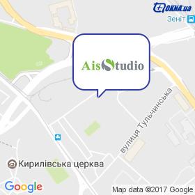 АІС-Студія на мапі