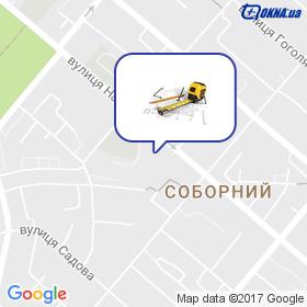 Аквагарант на мапі