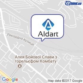 Альдарт на карте
