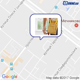 Аленди на карте