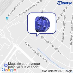 Алькон ЛТД на мапі