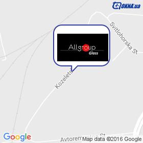 ALLGroup Glass на карте