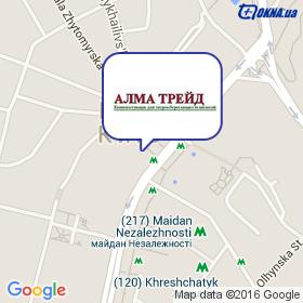 Алма Трейд на карте