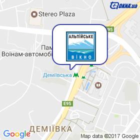 ТД АЛЬПІЙСЬКЕ ВІКНО на мапі