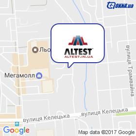 ALTEST на мапі