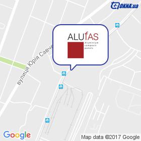 АЛЮФАС на мапі