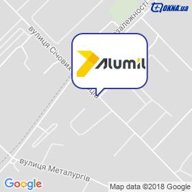 Alumil на мапі