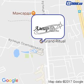ПКК Амирпласт на карте