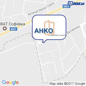 Анко на мапі