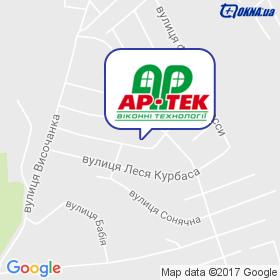 АР-тек на карте