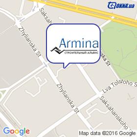 АРМИНА на карте