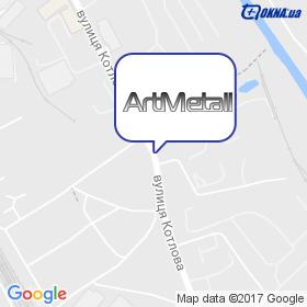 Арт-металл 2007 на карте