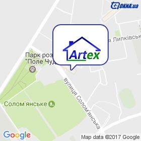 Artex на карте