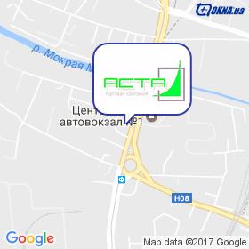 АСТА на карте