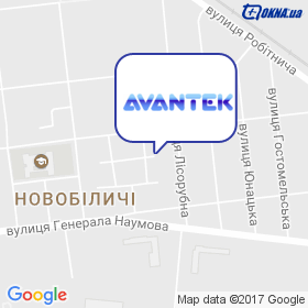 Авантек на мапі