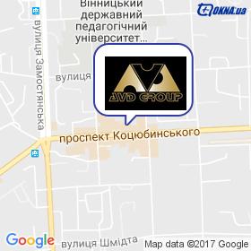 АВД-Груп на мапі