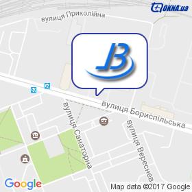 Барелит-Украина на карте