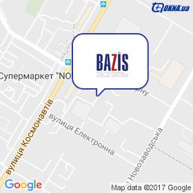 ТК Базис на карте