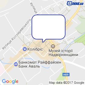 БЕВЗЮК М.М. на мапі