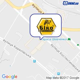 БіКо на мапі