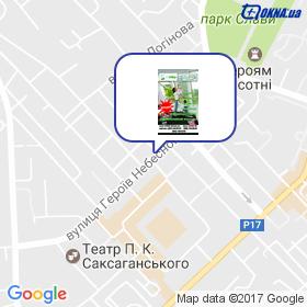 Бреденко А.С. на мапі