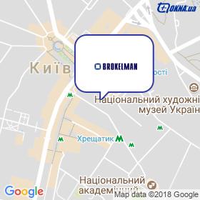 Brokelman на мапі
