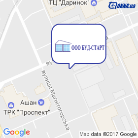БУД-СТАРТ на карте
