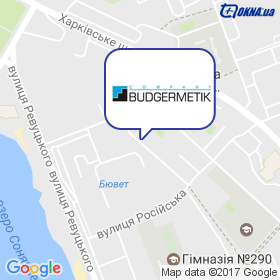 Будгерметик на мапі