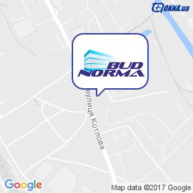Буд-Норма на мапі