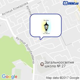Бульвар Окон и Дверей, салон на карте