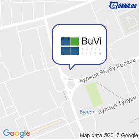 БУВІ на мапі