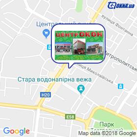 Центр Окон на карте