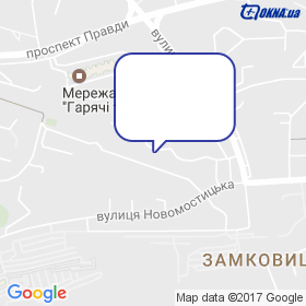 Чайка на мапі
