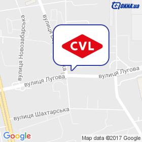CVL на карте