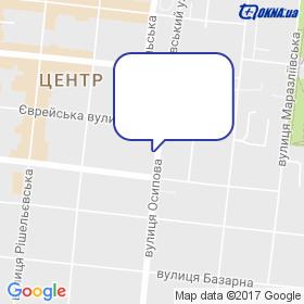 ДБК-СЩЮЗ на мапі
