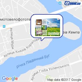 DiAline на мапі