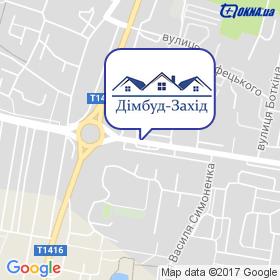 ДІМБУД-Захід на карте