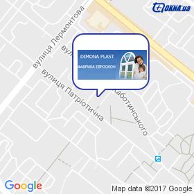 Dimona Plast фабрика Евроокон на карте